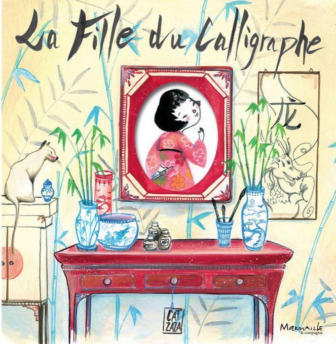 fille calligraphe