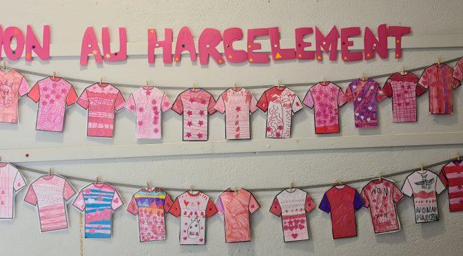 Les murs ont la parole teintée de rose !