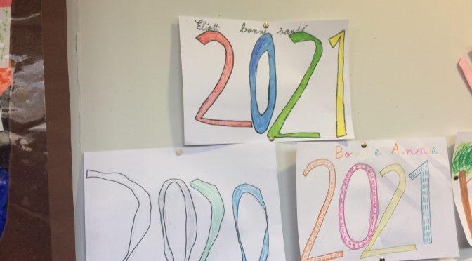 Notre passage à la nouvelle année