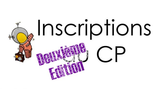 Inscriptions au CP – 2ieme vague