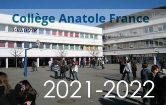Présentation du Collège Anatole France