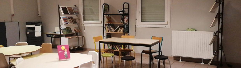 Nouveauté pour la rentrée : aménagement d'une Bibliothèque Centre Documentaire (BCD)