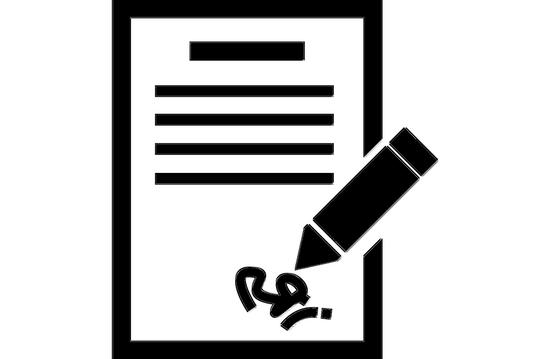 Image numérisée de sa signature