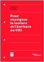 Pour enseigner la lecture et l'écriture au CE1