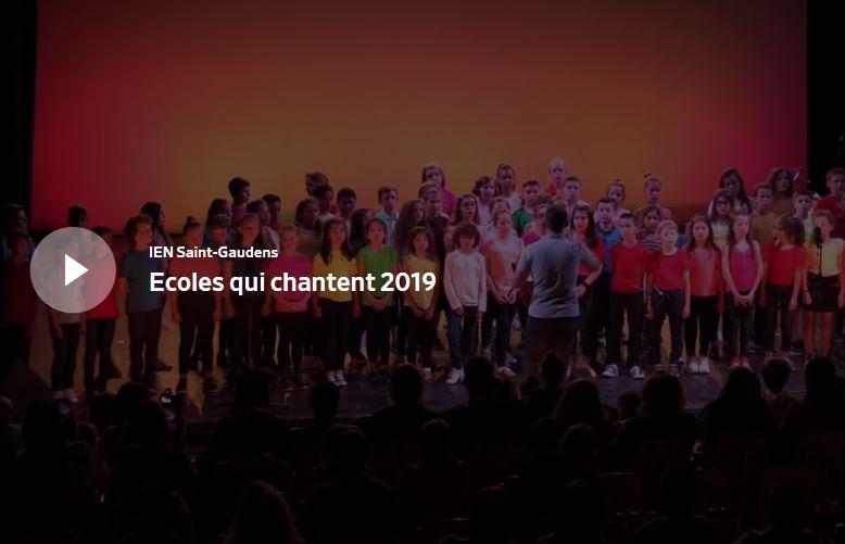 Festival des écoles qui chantent 2019