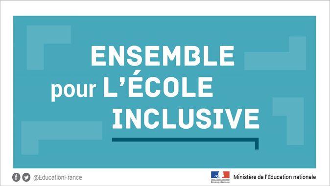 Rentrée 2019-2020 : l'école inclusive